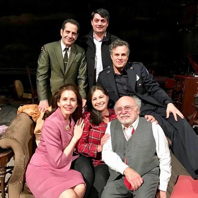 Cast Arthur Miller's 'The Price' at Broadway in American Airlines Theater - Mark Ruffalo, Tony Shalhoub, Jessica Hecht, and Danny DeVito