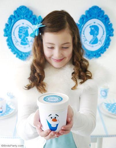 A Frozen Inspired Cupcake Fondue & Free Printables