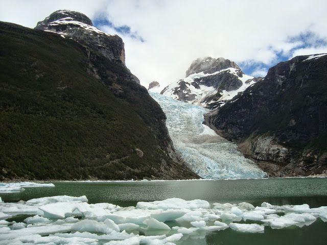 Glaciar Serrano. Patagonia chilena.