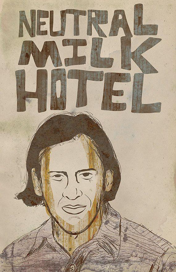 Neutral Milk Hotel Poster