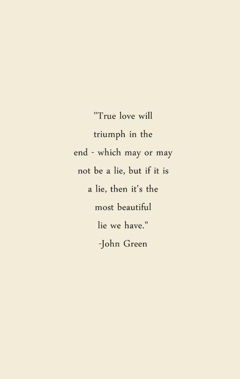John Green greatness. ❤️