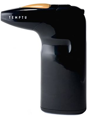 This Breakthrough Award-winning airbrush-makeup gun from Temptu delivers the same luminous, flawless finish as a professional machine but weighs just nine ounces and is supereasy to clean.