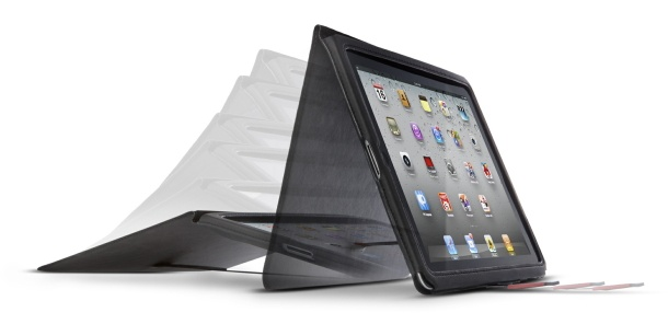 CNET's Best iPad 3 cases and covers (photos) - The Acme Made Infinite Angle case is ultrathin and allows you to prop up your iPad at any angle (at least in landscape mode). It has the auto awake feature built into the case like Apple's Smart Cover. It's really a nice, lightweight case that's also fairly affordable. Note: This case was originally designed for the iPad 2. Acme Made says it's compatible with the third-generation iPad. However, the company wants you to k...