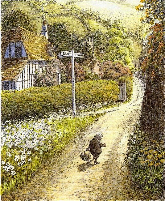 Image result for wind in the willows inga moore