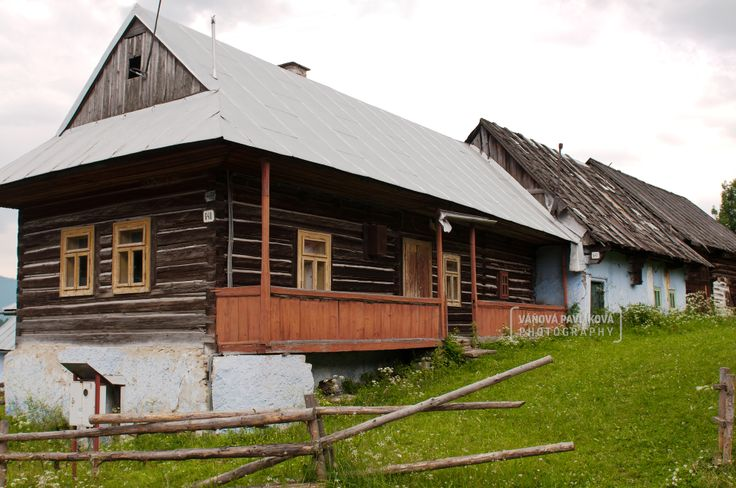 village Šumiac with its typical houses http://www.sumiac.sk/