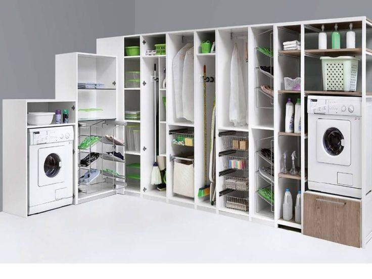 colonne armadiatura lavanderia