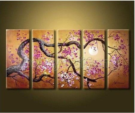 53 best images about new office on pinterest cherry for Simple cherry blossom painting
