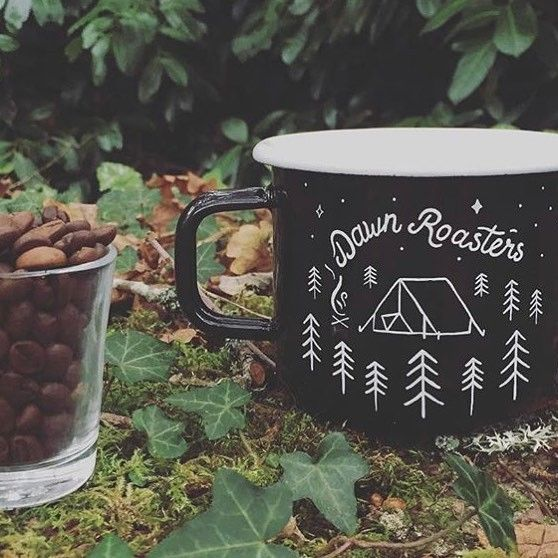 Summer adventures are just around the corner time to start planning and get prepared. We've a few of our hand painted enamel mugs left in the shop... #coffee #adventure #camping #dartmoor