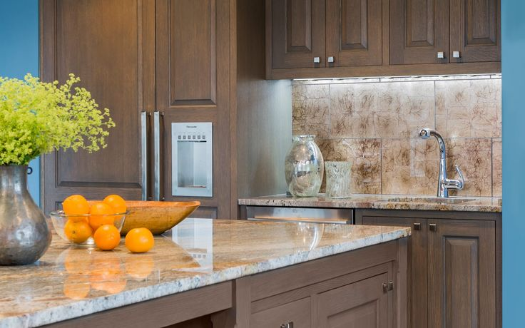 Colorful Kitchen Renovation Design Ideas: During This Renovation Elizabeth  Swartz Inteiors Accented The Warm Neutral
