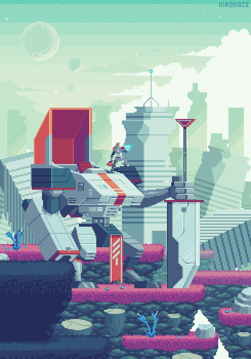 City ruins / Patreon #pixelart