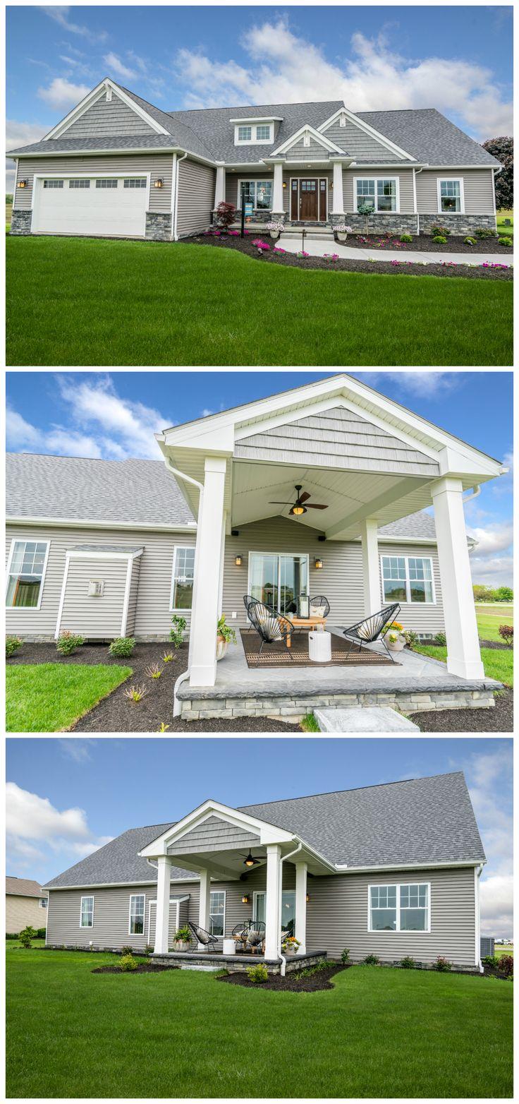 Mongomery Craftsman Model | Newark Model Home Center | Wayne Homes