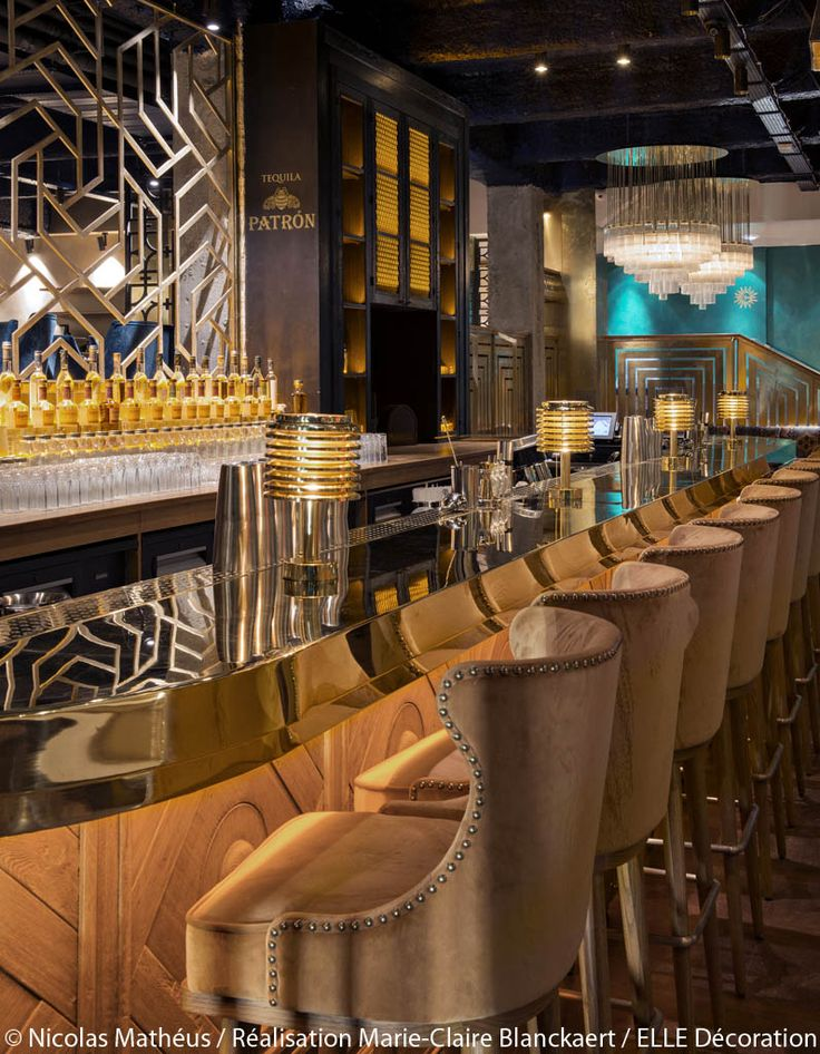 Best 25 art deco bar ideas on pinterest for Deco resto