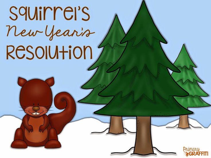 Squirrel's New Year's Resolution {Book Companion} Book