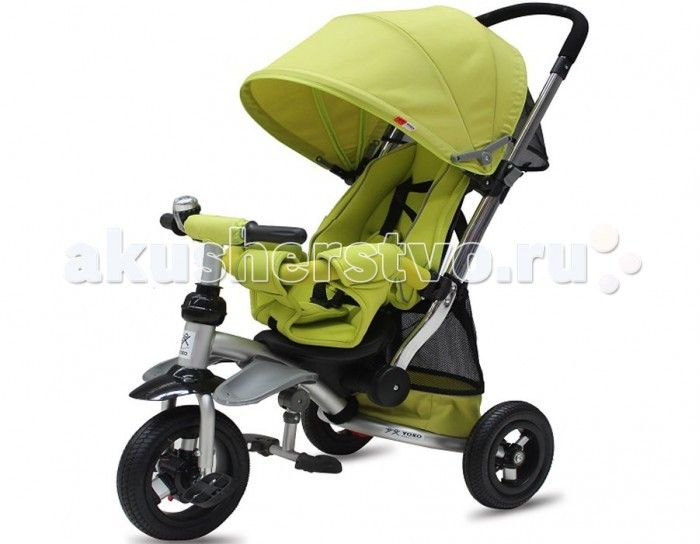 Велосипед трехколесный Vip Toys T-350  Этот велосипед исключительно понравиться вашему малышу! Прочный и надежный, на на широких колесах велосипед Vip Toys T-350 станет прекрасным подарком для любого малыша. Оснащенный удобной родительской ручкой, велосипед станет отличным средством передвижения, ведь он имеет легкий козырек от солнца и вместительную корзину для игрушек.   Широкие педали и руль эргономичной формы позволят ребенку самостоятельно и без проблем управлять движением, а если…