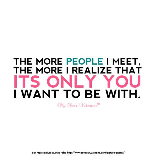 Cute i love you quotes for your boyfriend, i love only you