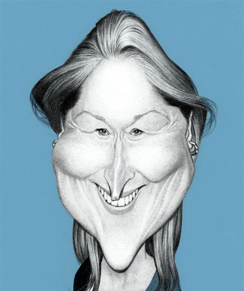 Meryl Streep by Thierry Coquelet