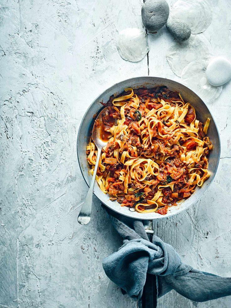 Vegan Mushroom Bolognese Recipe