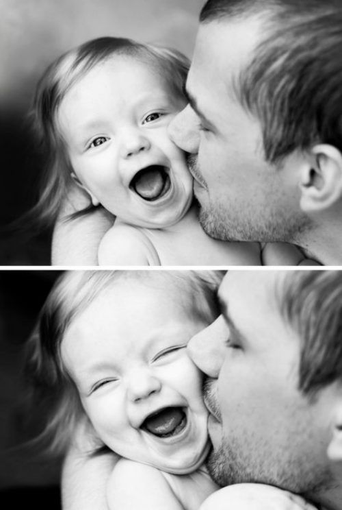 : Picture, Girls, Kiss, Photo Ideas, Baby, Dads, Smile, Father Daughters, Daddy Daughters