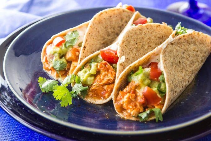 Slow+Cooker+Chicken+Tacos