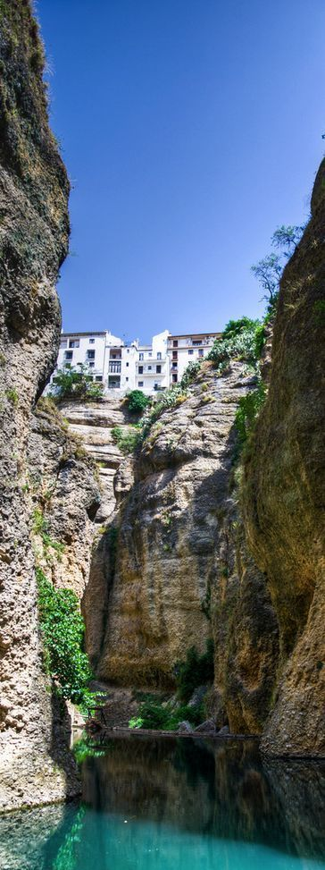 Ronda, Malaga, Spain  ✈✈✈ Here is your chance to win a Free Roundtrip Ticket to Seville, Spain from anywhere in the world **GIVEAWAY** ✈✈✈ https://thedecisionmoment.com/free-roundtrip-tickets-to-europe-spain-seville/