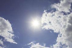 0103 Fototapete Sonne und Wolken - Bildtapete