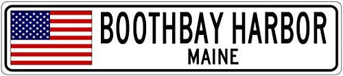 """BOOTHBAY HARBOR, MAINE - USA Flag City Sign - 9""""x36"""" Qual... https://www.amazon.com/dp/B01L3Y39PE/ref=cm_sw_r_pi_dp_x_vMDmyb9A3RDP7"""