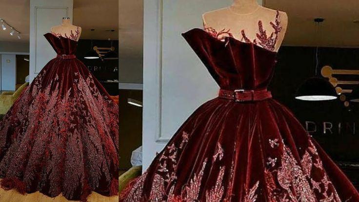 فساتين خطوبة فساتين منفوشة طويلة Prom Dresses Dresses Fashion