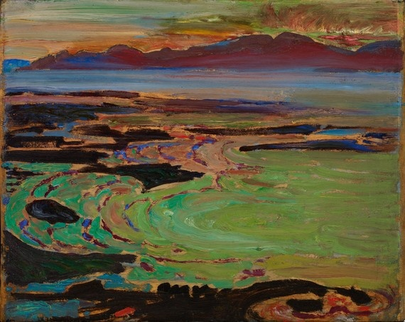 Frederick Varley, 1926, West Coast Sunset, Vancouver