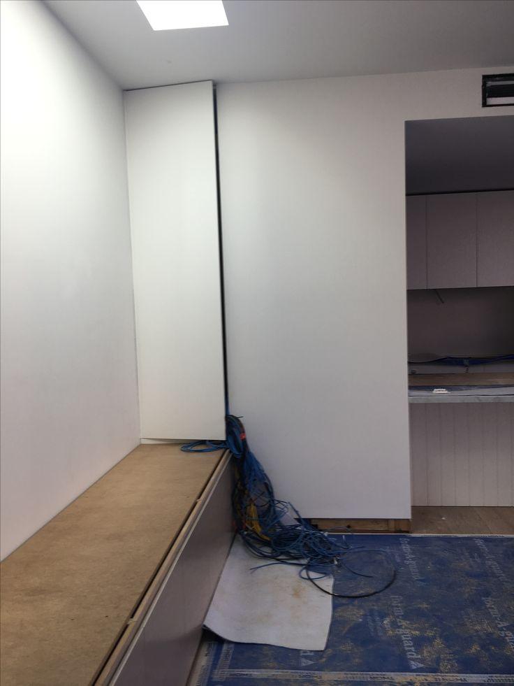 Cctv storage cupboard