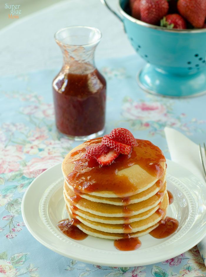 My copycat IHOP Strawberry Syrup uses real strawberries and ingredients that are found in your pantry. No more fake stuff.