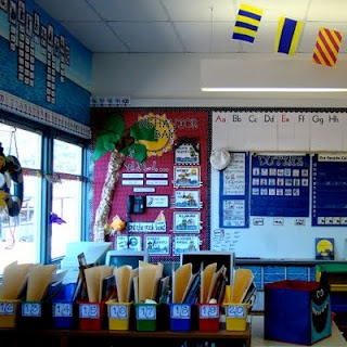 Sailing Through 1st Grade: Classroom Photos- Behavior Bay Clip Board; Anchor Words; Captain: Star Student