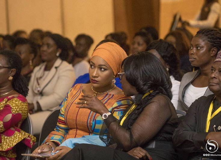 Samira Bawumia at the maiden WIMBIZ International Conference