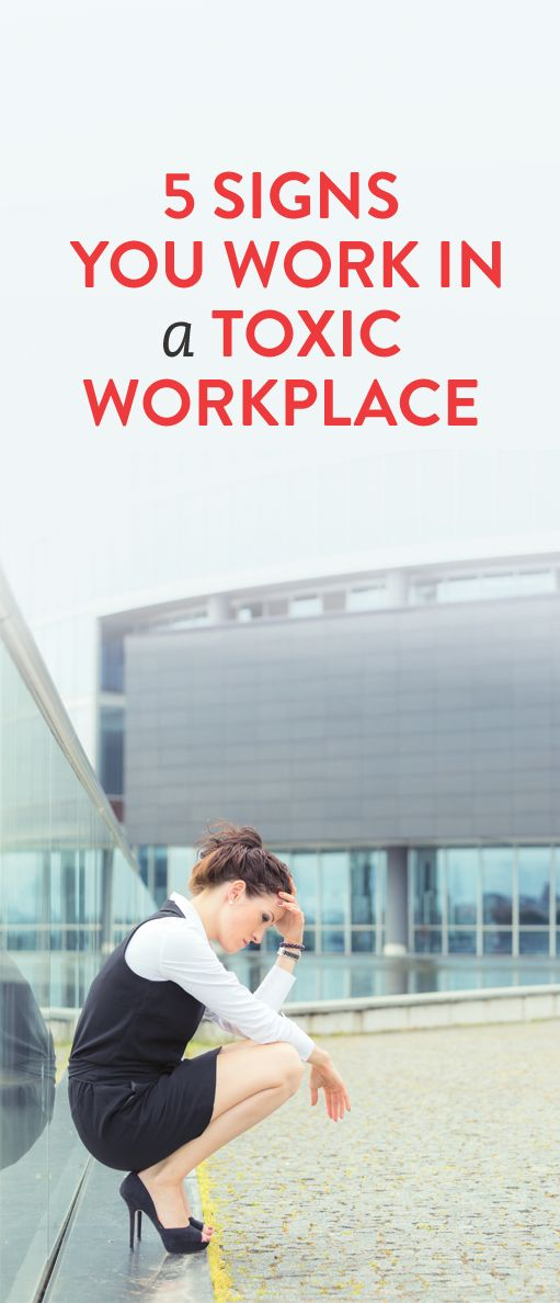 5 Signs You Work In A Toxic Workplace  .ambassador