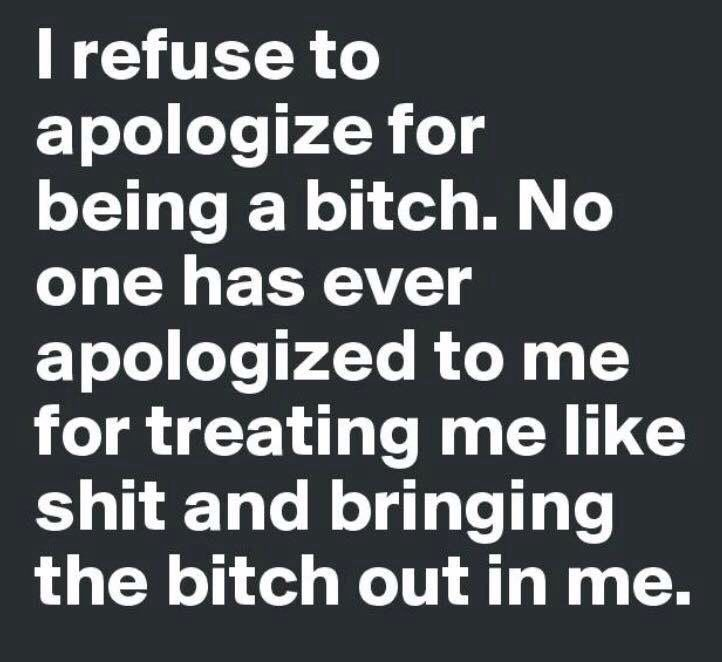 AMEN. I totally agree with this. Not to people who deserve it
