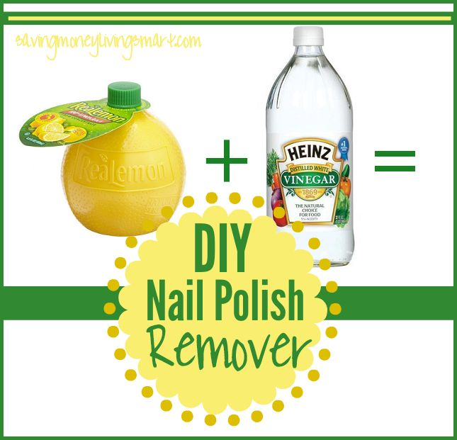 Make your own Nail Polish  remover with only 2  common household  ingredients. Not only is it non-toxic, it  is great for your nails and much cheaper than nail polish remover. If you are in a  pinc…