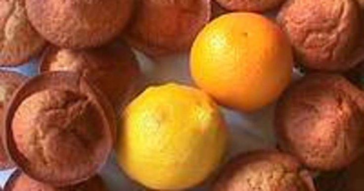 Muffins aux agrumes. et graines de pavot. La recette par Chef Simon.