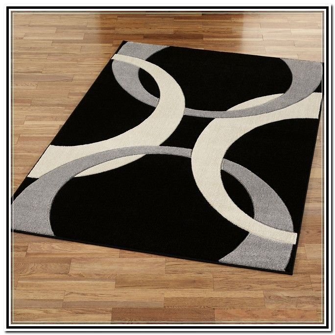 black and white area rugs