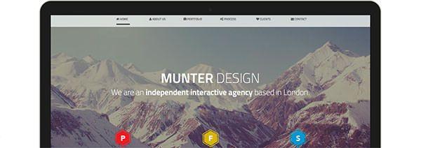 レスポンシブWebデザインに対応!クリエイティブな無料HTMLテンプレート素材まとめ