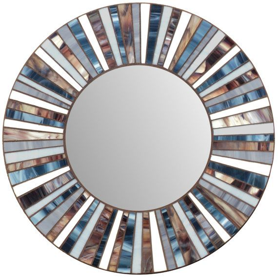 Stained Glass Mosaic Mirror от MIRRORMONTAGES на Etsy