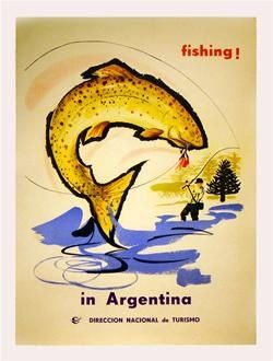 argentina travel poster | Vintage travel poster - Buenos Aires, Argentina | high end posters