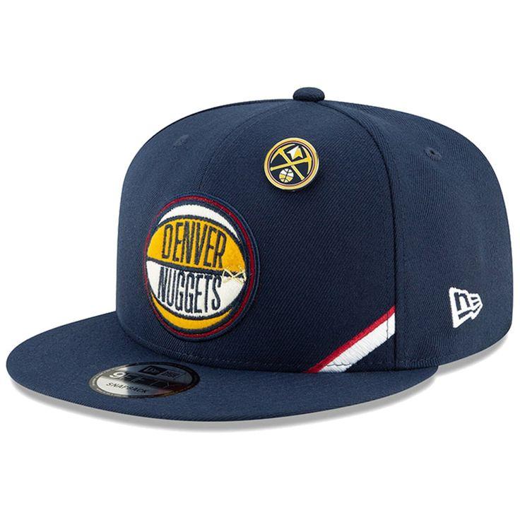 New Era Navy Denver Nuggets 2019 NBA Draft 9FIFTY Snapback verstellbarer Herrenhut, Blau   – Products