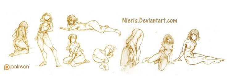 Poses (part 2) by Nieris on DeviantArt