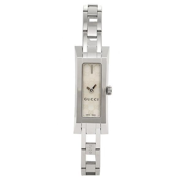 Gucci watches ladies GUCCI G LINK watch watches white / silver - gucci-ya110525