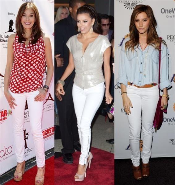 Где можно купить белые узкие джинсы