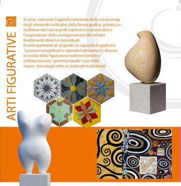 """Ind. Arti Figurative, Depliant (partic.), a.s.2010/11. Archivio Liceo artistico """"Stagio Stagi"""" Pietrasanta (LU)."""