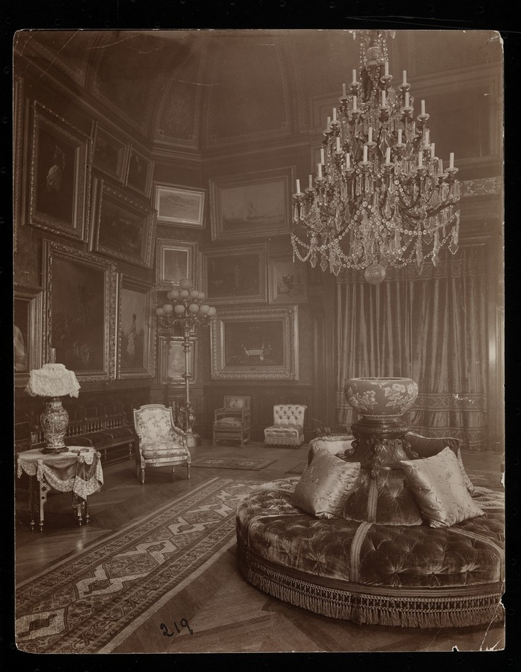 """The Mrs. William Astor residence, 5th Avenue & 34th Street, New York, 1894"""