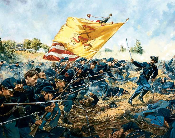 FIRST MINNESOTA Limited Edition Civil War Print by Don Troiani