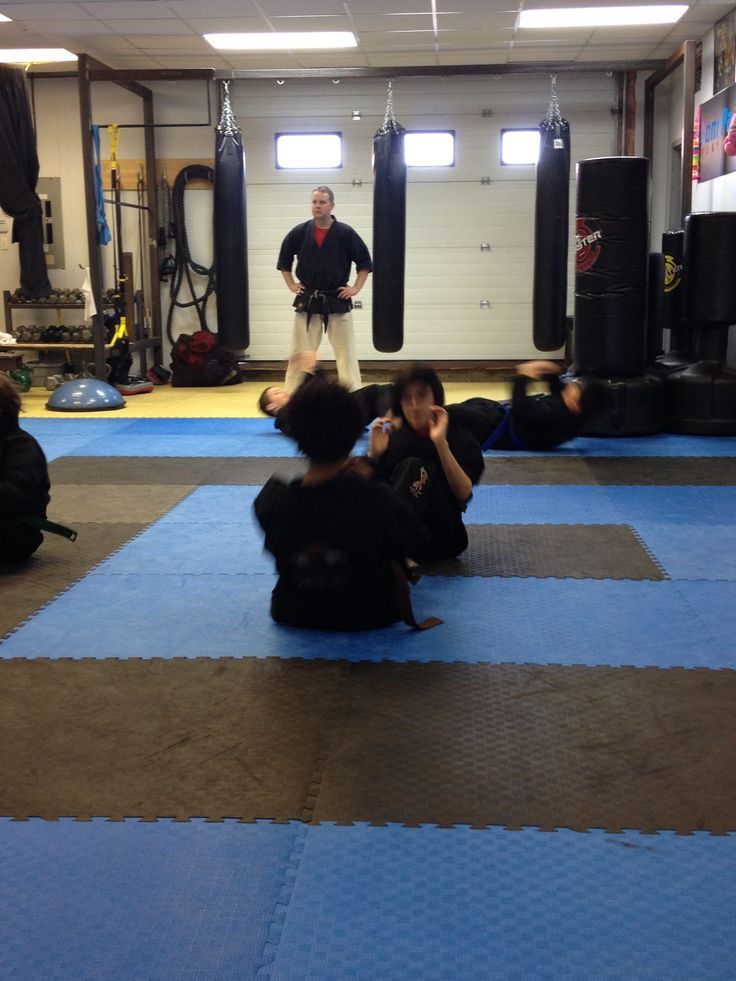 Black Belt Club warm ups!