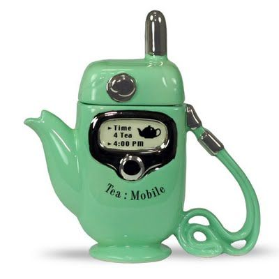 What a cute teapot.
