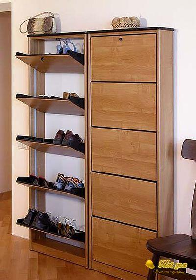 Обувной шкаф фото